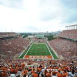 Oct 23, 2010; Austin, TX, USA; A general view of Texas Memorial Stadium during the game between the Iowa State Cyclones and the Texas Longhorns. Iowa State beat Texas 28-21. Mandatory Credit: Brendan Maloney-US PRESSWIRE
